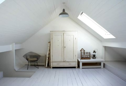 loft conversion - interior design