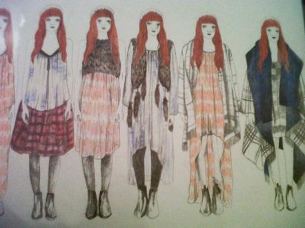 Anna Morris Graduate Fashion Lookbook