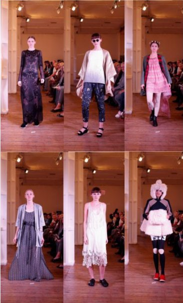 Brighton Fashion Graduate Show 2012