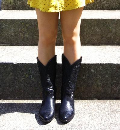 Loblan cowboy boots