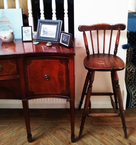 Old bar stool