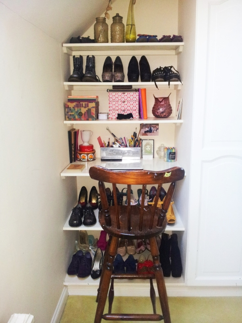 The Shoe Shelves