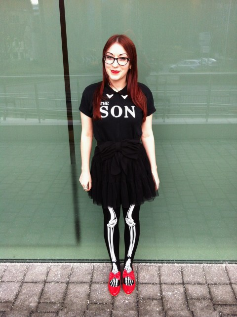 Honor Clement-Hayes wearing The SON band tshirt