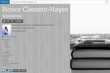Honor Clement-Hayes on about.me