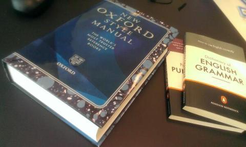 Grammar books!