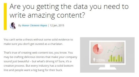 Are you getting the data you need to write amazing content?